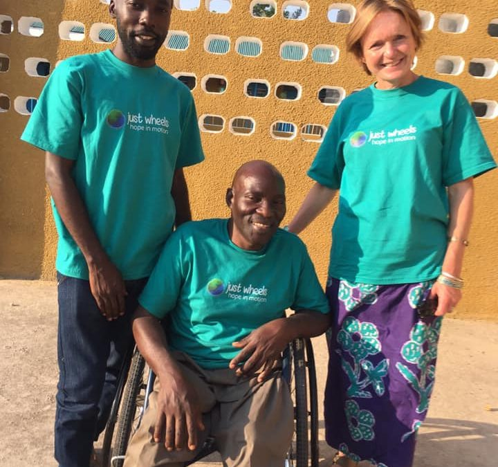 Just Wheels Tanzania Chair and staff visiting UK in March and April this year